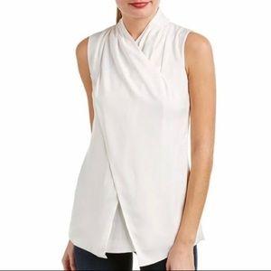 CAbi Wraparound Top White Size 4